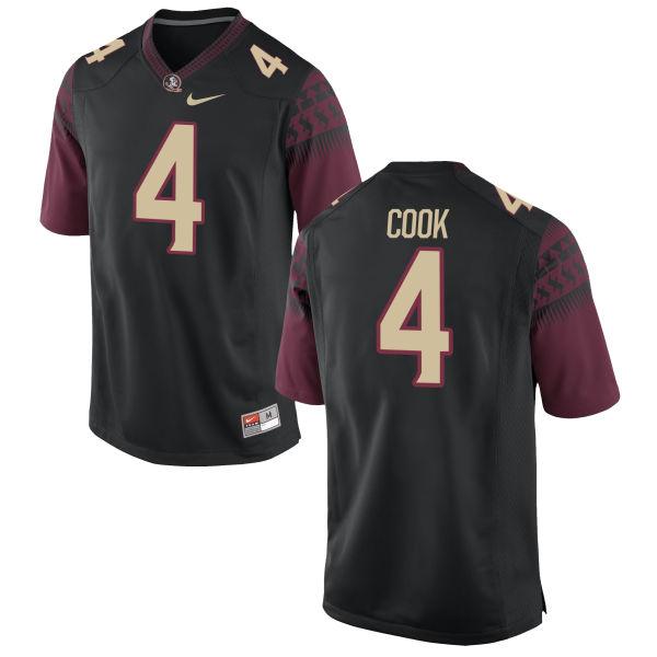 Men's Nike Dalvin Cook Florida State Seminoles Replica Black Football Jersey