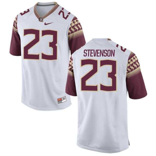 Youth Nike Freddie Stevenson Florida State Seminoles Limited White Football Jersey