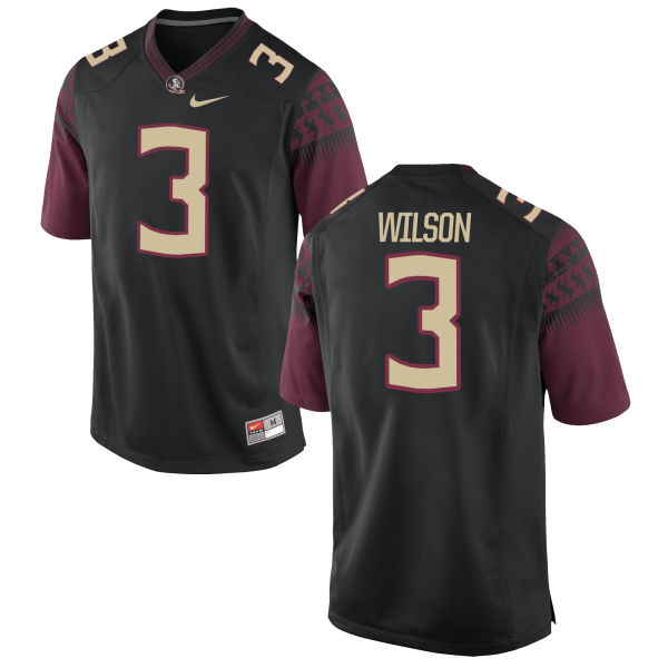 Women's Nike Jesus Wilson Florida State Seminoles Limited Black Football Jersey
