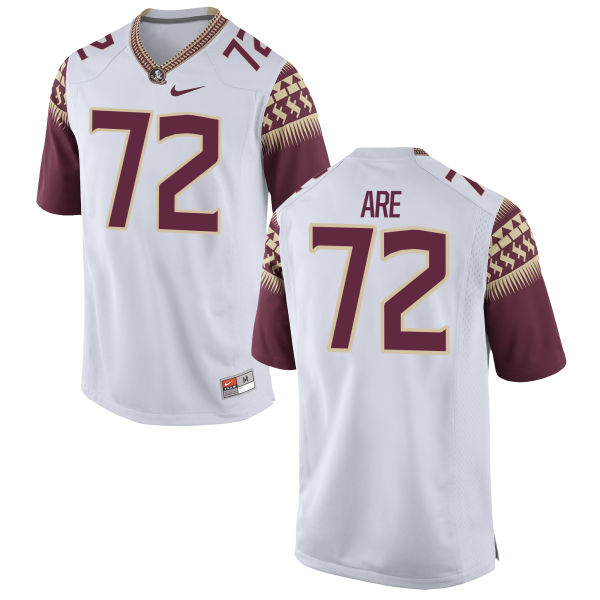 Youth Nike Kareem Are Florida State Seminoles Limited White Football Jersey