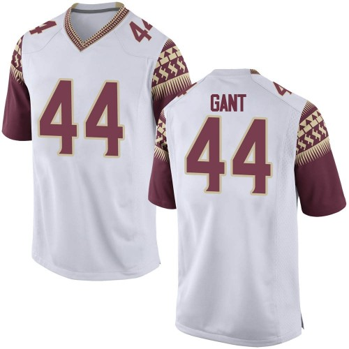Men's Nike Brendan Gant Florida State Seminoles Replica White Football College Jersey