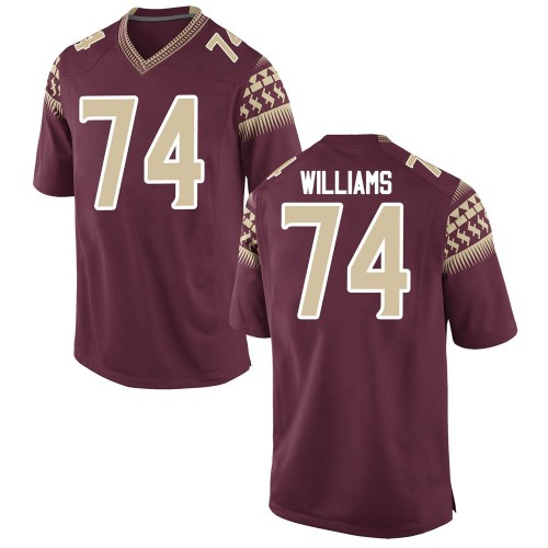 Men's Nike Jay Williams Florida State Seminoles Game Garnet Football College Jersey