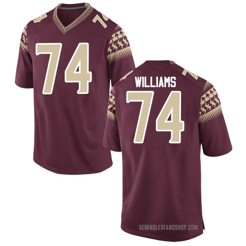 Men's Nike Jay Williams Florida State Seminoles Replica Garnet Football College Jersey