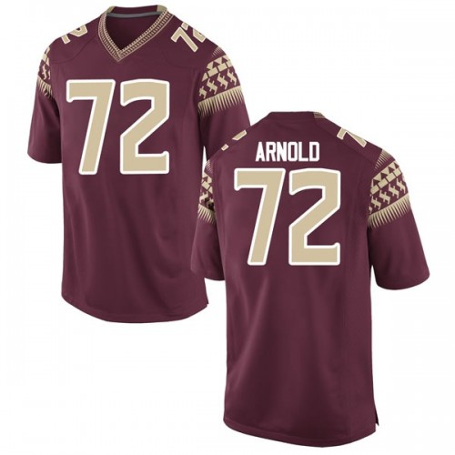 Men's Nike Mike Arnold Florida State Seminoles Replica Garnet Football College Jersey