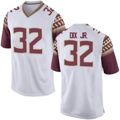Men's Nike Stephen Dix Jr. Florida State Seminoles Replica White Football College Jersey