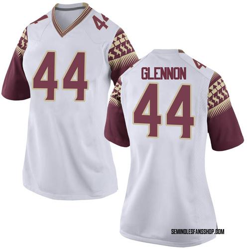Women's Nike Grant Glennon Florida State Seminoles Replica White Football College Jersey