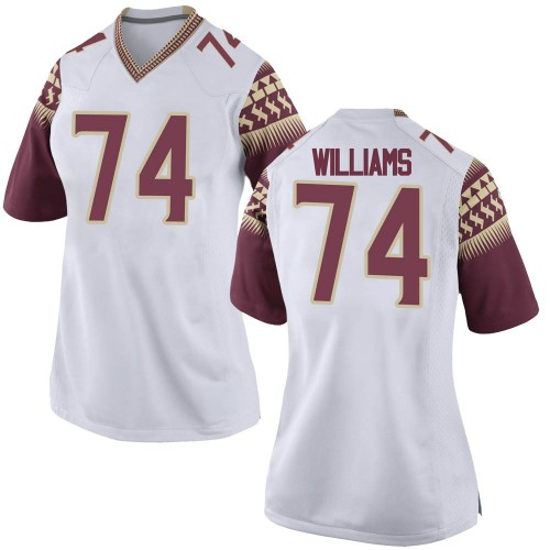 Women's Nike Jay Williams Florida State Seminoles Game White Football College Jersey