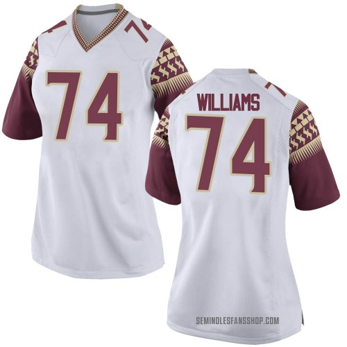 Women's Nike Jay Williams Florida State Seminoles Replica White Football College Jersey