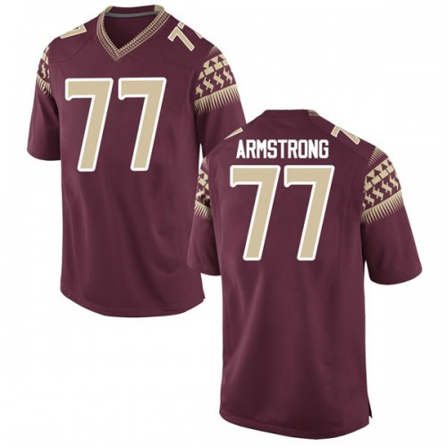 Youth Nike Christian Armstrong Florida State Seminoles Game Garnet Football College Jersey