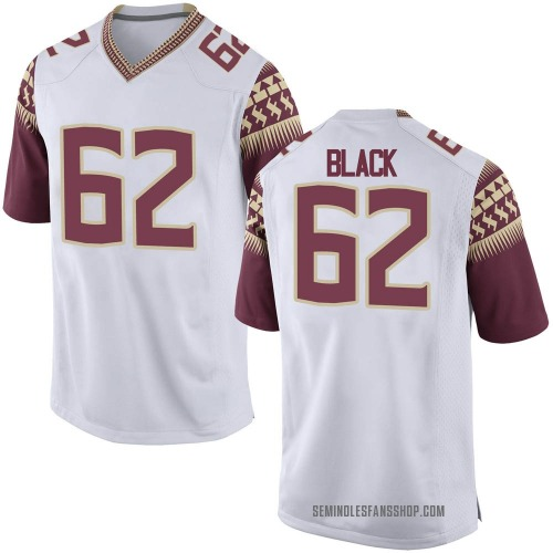 Youth Nike Dylan Black Florida State Seminoles Replica White Football College Jersey