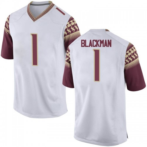 Youth Nike James Blackman Florida State Seminoles Replica White Football College Jersey
