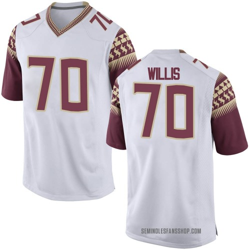 Youth Nike Lloyd Willis Florida State Seminoles Replica White Custom Football College Jersey