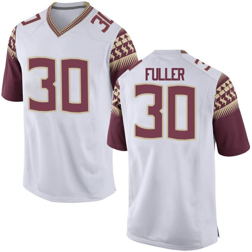 Youth Nike Quashon Fuller Florida State Seminoles Game White Football College Jersey