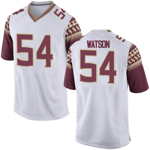 Youth Nike Ricardo Watson Florida State Seminoles Replica White Football College Jersey
