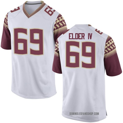 Youth Nike Robert Elder IV Florida State Seminoles Replica White Football College Jersey