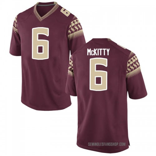 Youth Nike Tre' McKitty Florida State Seminoles Game Garnet Football College Jersey