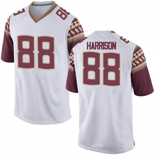 Youth Nike Treshaun Harrison Florida State Seminoles Replica White Football College Jersey